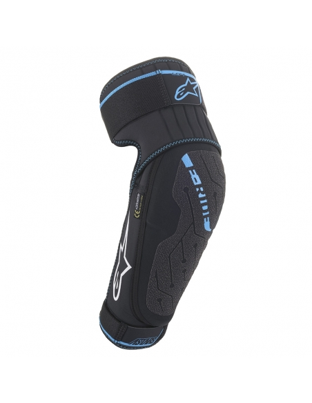 Protector Codo E-Ride Neg/Cyan 16510211079