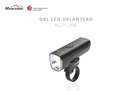 ALLTY 1000 OF MAGICSHINE, THE FIRST BIKE LIGHT OF 1000 LUMENS WITH DRL