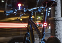 MagicShine light kit for short routes: Allty Mini front light bike + SEEME 20 tail light